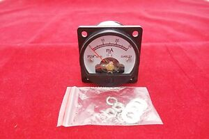 1pc Dc 0 30ma Analog Ammeter Panel Amp Current Meter So45 Directly Connect