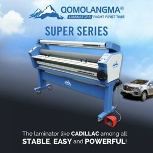 Us Stock 60 Economical Full Auto Low Temp Wide Format Cold Laminator