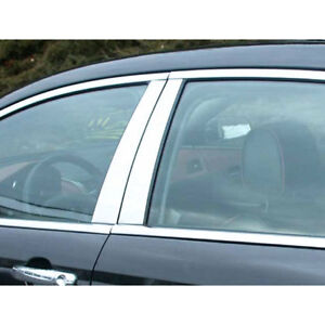 2008 2012 Malibu 4pc Luxury Fx Chrome Pillar Post Trim