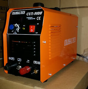 Pilot Arc Plasma Cutter Cut50df 50amp 110v 220v Dual Voltage 18 Consumables
