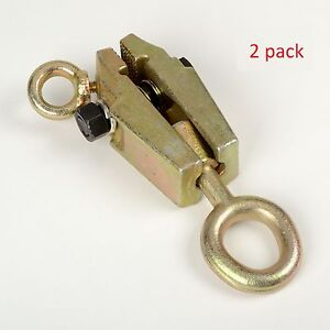 Self tightening 5 Ton Frame Body Repair Small Mouth Pull Clamp Copper 2 way