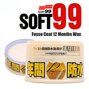 Soft99 Fusso 12 Months Auto Care Waterproof Wash Detailing Light Long Term Wax
