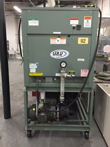 2010 Cold Shot 10 Ton Dual Compressor Air Cooled Glycol Chiller 28f 460v Tested