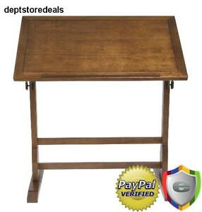 Wood Drafting Drawing Table Adjustable Antique Art Work Craft Board Desk Surface