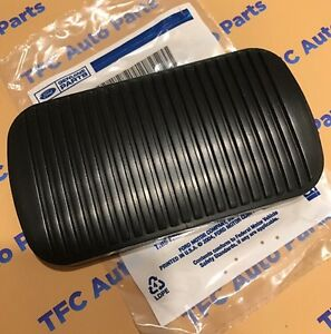 Ford Lincoln Mercury Black Rubber Brake Pedal Pad Cover Automatic Oem New