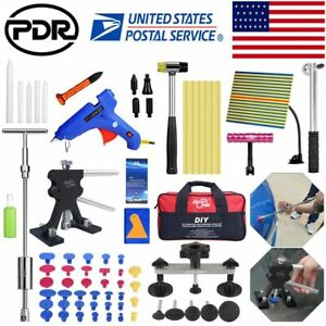 71 Paintless Hail Repair Dent Puller Lifter Pdr Tools Car Damage Removal Kits