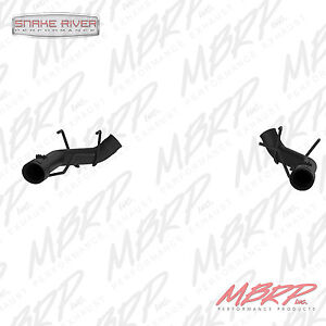 Mbrp 3 Axle Back 11 14 Ford Mustang Gt Muffler Delete Straight Pipe Black