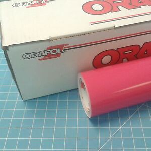 Pink Oracal 651 1 24 X 30 Roll Sign Cutting Vinyl