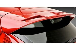 Un Painted For Ford Fiesta 5dr Hatchback 2011 2019 Lighted Spoiler Wing New