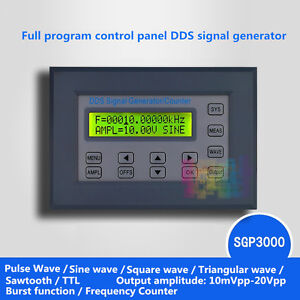 2 20mhz Panel Dds Function Signal Generator Module 20vpp Multi Waveform pwm Test