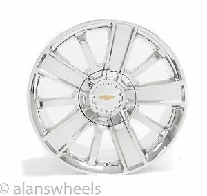 4 New Chevy Silverado Avalanche Chrome 20 Wheels Rims Free Shipping 5653