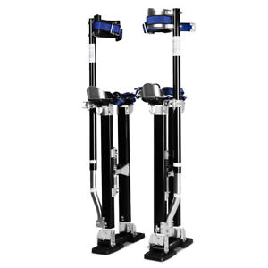 18 30 Inch Drywall Stilts Aluminum Tool Painters Walking Taping Finishing Black