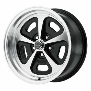 American Racing Vn501 500 Mono Cast 15x8 5x114 3 Et0 Gloss Black Mach Qty Of 1