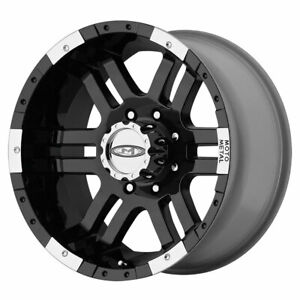 Moto Metal Mo951 Rim 16x9 6x5 5 Offset 12 Gloss Black Machined Quantity Of 1