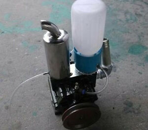 Vacuum Pump For Cow Milking Machine Milker Bucket Tank Barrel Free Shipping