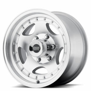 American Racing Ar23 16x7 8x165 10 Offset 6 Machined With Clearcoat Qty Of 1