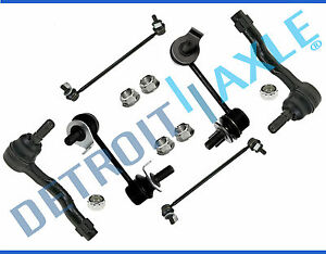 Tierod Ends Front Rear Sway Bar For 2003 2004 2005 2006 2007 2008 Fx35 Fx45