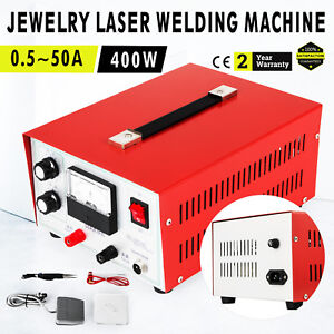 Jewelry Welding Machine Spot Welder Platinum Stone Gold Silver 400w 110v Newest