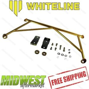Whiteline Front Lower Control Arm Subframe Brace Fits 2005 2010 Mustang