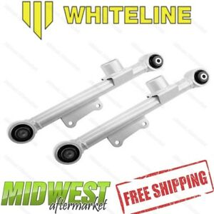 Whiteline Fixed Rear Lower Control Arms Fits 1979 2004 Ford Mustang