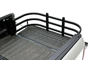 Amp Research 74815 01a Black Bed Extender Hd Max For Chevy Silverado gmc Sierra