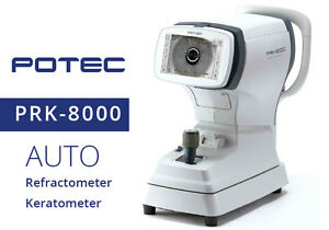 Auto Ref keratometer Potec Prk 8000 With 1 Year Warranty Made In Korea