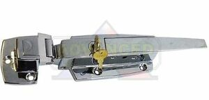 High Quality Walk in Cooler Freezer Chrome Flush Door Latch Handle W keys Chg