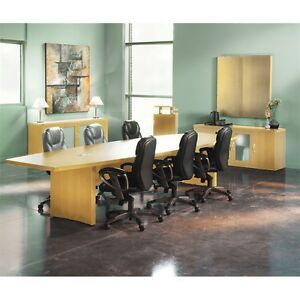 Mayline 12 Conference Table Boat Surface