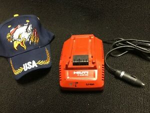 Hilti Dc Car Charger 4 36 Preowned Free Hat Fast Ship