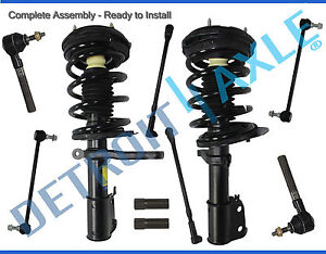 Dodge Chrysler Intrepid 300m Concorde Lhs 10pc Front Strut Tierod Sway Bar Kit