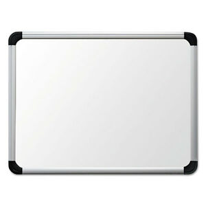 Universal Porcelain Magnetic Dry Erase Board 24 X36 White