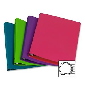 Samsill Poly Ring Binder 1 Binder Capacity Letter 8 1 2 X 11 Sheet