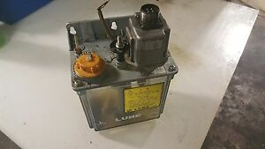 Lube Corp Automatic Lubricator Mmxl iii 100v 6 Min Interval Used Warranty