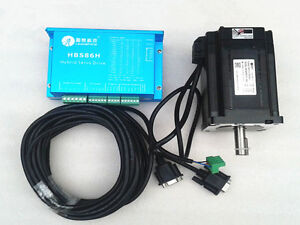 Nema34 8nm 1145ozin 2phase Closed Loop Easy Servo Motor With Hybrid Drive Kit