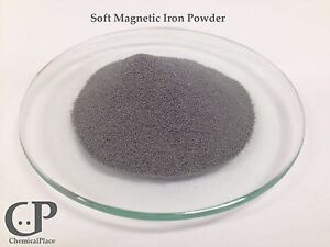 Soft Magnetic Iron Powder 5 Lbs Ultra Pure 99 5