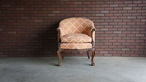 Antique French Carved Chair 19th Century Chair French Louis Xv Rococo
