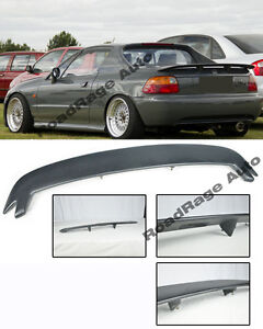 For 93 97 Honda Civic Crx Del Sol Mugen Style Rear Wing Spoiler Lip Kit Eg2 Eg1