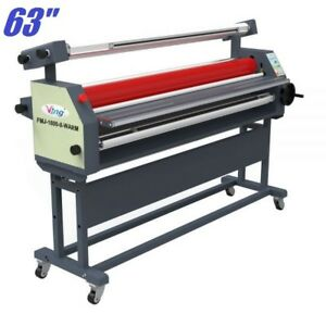 63 Full Auto Wide Format Heat Assisted Cold Laminator Laminating Machine