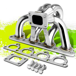 For 88 00 Honda D series T25 t28 Racing Performance Turbo Manifold Exhaust Kit