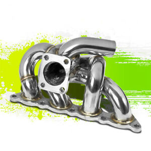 For 93 02 Mit Mirage Evo 4g93 Swap 1 8 Racing Performance Turbo Manifold Exhaust