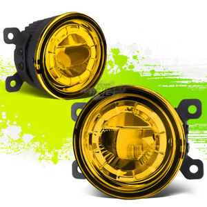3 5 round Aluminum Housing Yellow 5w Projector Led Driving Fog Light Lamp mount