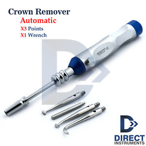 Dental Automatic Crown Remover Gun Surgical Dentists Crowns Removals Instruments