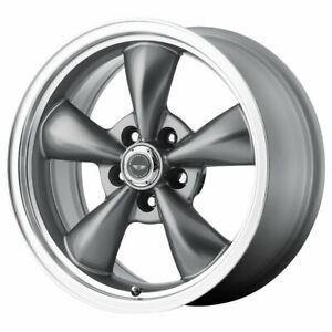 American Racing Ar105 Torqthrust M 18x8 5x5 Offset 0 Anthracite mach qty Of 1