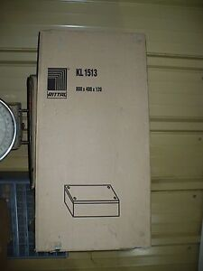 Rittal Kl1513 Electrical Enclosure 800mm X 400mm X 120mm New