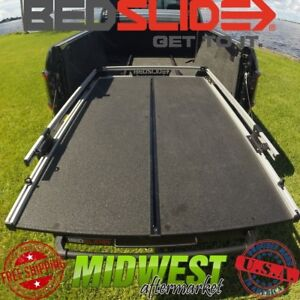Bedslide S Split Deck Sliding Bed Drawer With Trax Rail Kit For Ford 6 9 Bed