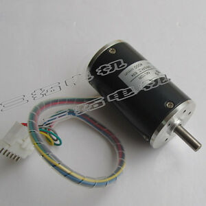 1pcs Dc12v 24v Micro Brushless Dc Motor With Double Ball Bearing Long Life