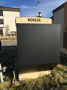 2004 50 Kw Kohler Generator Natural Gas 330 Hours Enclosed