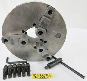 12 3 Jaw Manual Lathe Chuck D1 6 Spindle Mounting