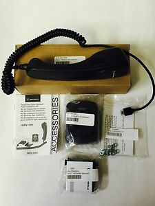 New Oem Motorola Handset Speaker Mic For Cdm1250 Mcs2000 Cm200 Pm400 Hmn1086
