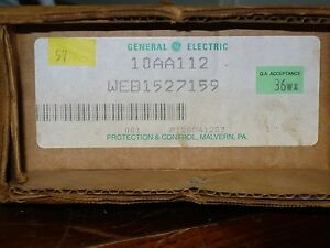 General Electric 10aa112 2 Position Rotary Switch New